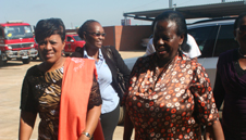 Protocol: Executive Mayor Greta Hlongwane welcomes Rejoice Mabudafhasi, Deputy Minister of Water and Environment Affairs